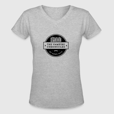 The Vampire Chronicles - Women's V-Neck T-Shirt