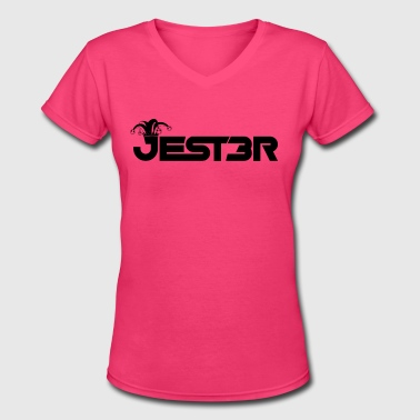 JESTER - Women's V-Neck T-Shirt