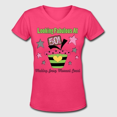 50th Birthday - Women's V-Neck T-Shirt