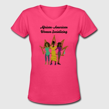 Sisters - Women's V-Neck T-Shirt