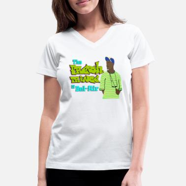 Prince The Fresh Prince of Bel Air - Women's V-Neck T-Shirt