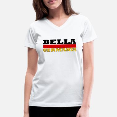 Germania Geautiful germany - Bella Germania - Women's V-Neck T-Shirt