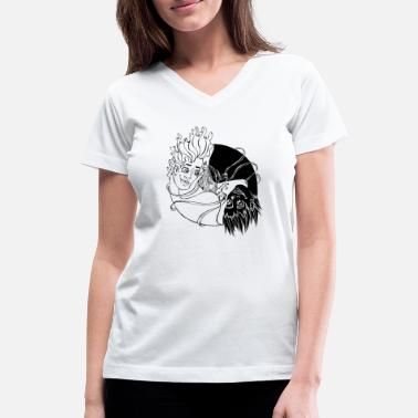 Opposites Attract opposites attract - Women's V-Neck T-Shirt