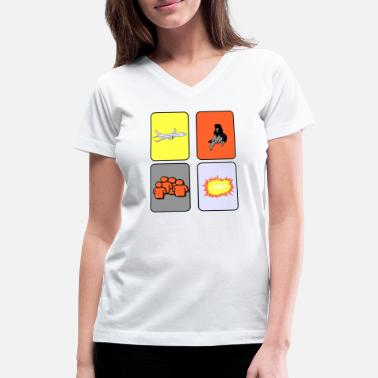 Destination Destination - Women's V-Neck T-Shirt