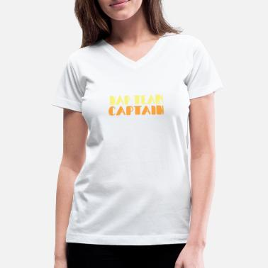 Nap Team Captain Nap Team Captain - Women's V-Neck T-Shirt