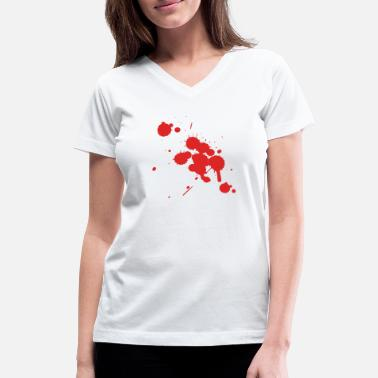 Bloody Bloody Bloody Shirt - Women's V-Neck T-Shirt