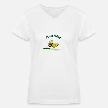 bddf610f0f855 avocado Women's V-Neck T-Shirt   Spreadshirt
