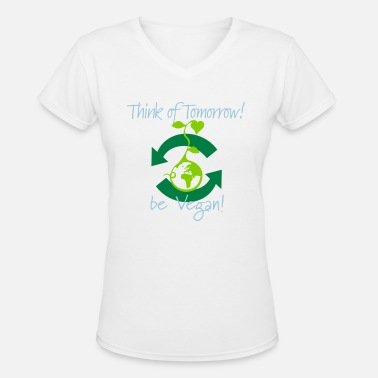 9fffbaddcdf Vegan - Think of Tomorrow - Better World Activist Women's Polo Shirt ...
