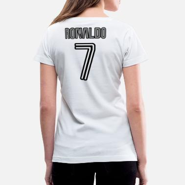 hot sale online f6ab8 9971b Shop Ronaldo Juventus T-Shirts online | Spreadshirt
