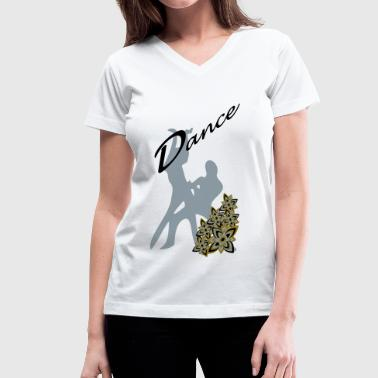 Dance (Latin) - Women's V-Neck T-Shirt