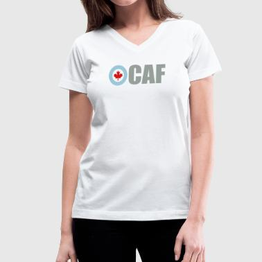 Canadian Air Force - Women's V-Neck T-Shirt