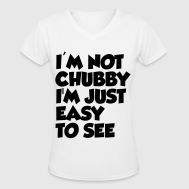 EASY TO SEE - Women's V-Neck T-Shirt