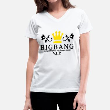 Big Bang Kpop Big Bang - Women's V-Neck T-Shirt