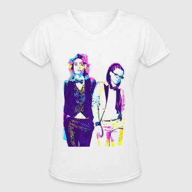 Cophine Delphine And Cosima LGBT - Women's V-Neck T-Shirt