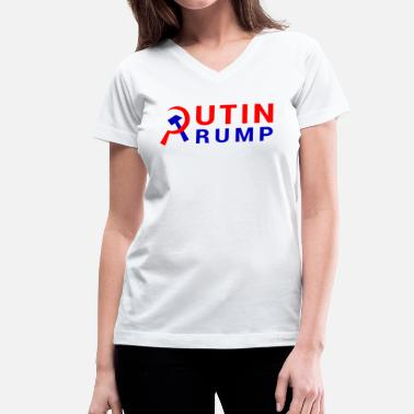 Putin Trump Putin Trump - Women's V-Neck T-Shirt