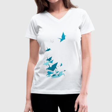 Paperflight - Women's V-Neck T-Shirt