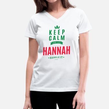 Hannah HANNAH - Women's V-Neck T-Shirt