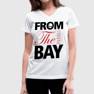 Golden Gate from_the_bay - Women's V-Neck T-Shirt