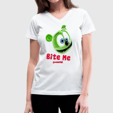 Youtuber Sing Bite Me - Women's V-Neck T-Shirt