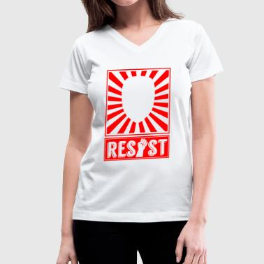 Resist - Resist - Women's V-Neck T-Shirt