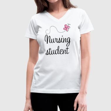 Nursing Student - Women's V-Neck T-Shirt