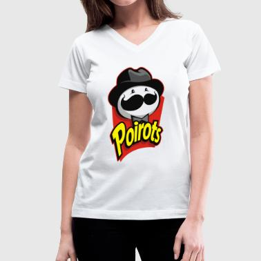 Poirot Father Poirots - Women's V-Neck T-Shirt
