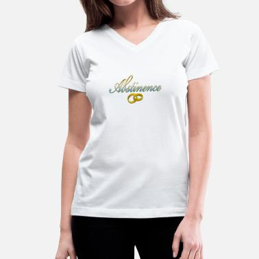 Alkohol Abstinence - Women's V-Neck T-Shirt