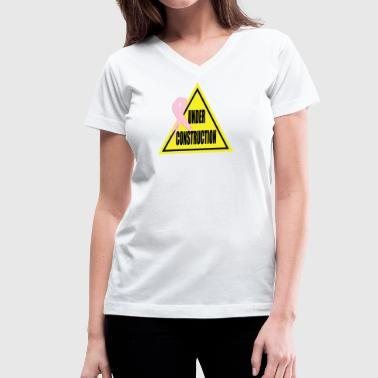 Under Construction - Women's V-Neck T-Shirt