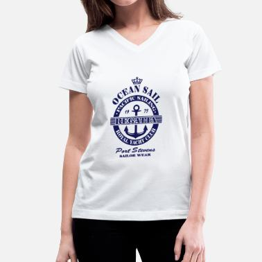 Regatta Sailing Ocean Sail Regatta - Women's V-Neck T-Shirt