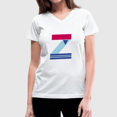 Z - Women's V-Neck T-Shirt