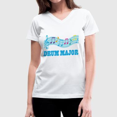 Drum Major - Women's V-Neck T-Shirt