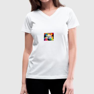 Mariana - Women's V-Neck T-Shirt