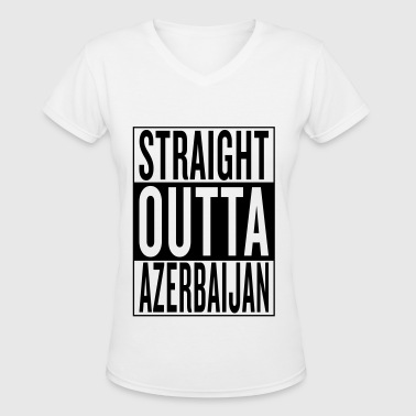 Azerbaijan - Women's V-Neck T-Shirt