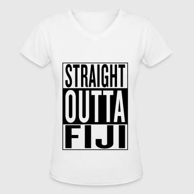Fiji - Women's V-Neck T-Shirt