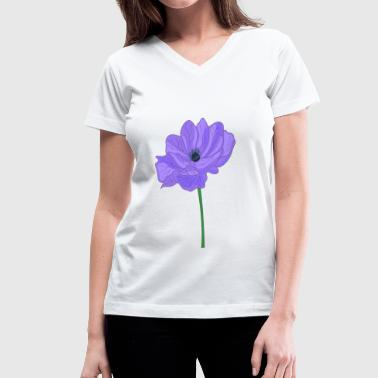 anemone - Women's V-Neck T-Shirt