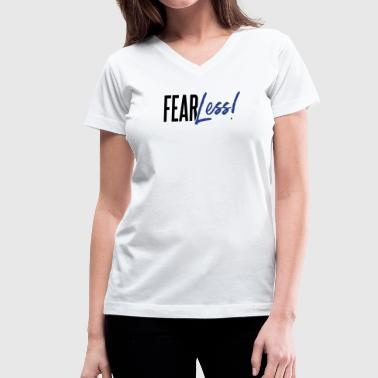 FearLess - Women's V-Neck T-Shirt