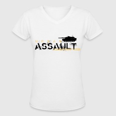 military - Women's V-Neck T-Shirt