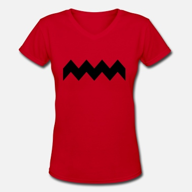 Charlie Brown charly - Women's V-Neck T-Shirt