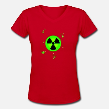 Nuclear nuclear - Women's V-Neck T-Shirt