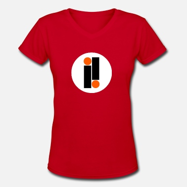 Record Record - Women's V-Neck T-Shirt