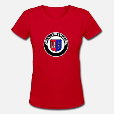 Alpina Alpina logo - Women's V-Neck T-Shirt