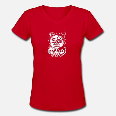 Imaginary Burton s Imaginary Friends - Women's V-Neck T-Shirt