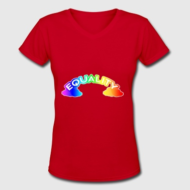 Tops Equality EQUALITY - Women's V-Neck T-Shirt