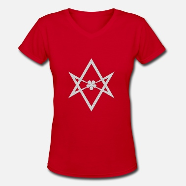 Unicursal Thelema - Women's V-Neck T-Shirt