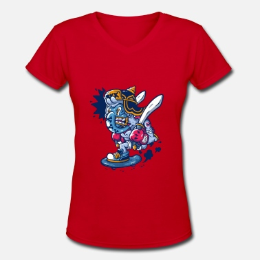 Bkk BKK - Women's V-Neck T-Shirt