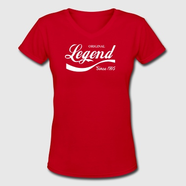 Legend Since 1995 - Women's V-Neck T-Shirt