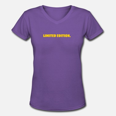 Rare Limited Edition limited edition rare gift ego - Women's V-Neck T-Shirt