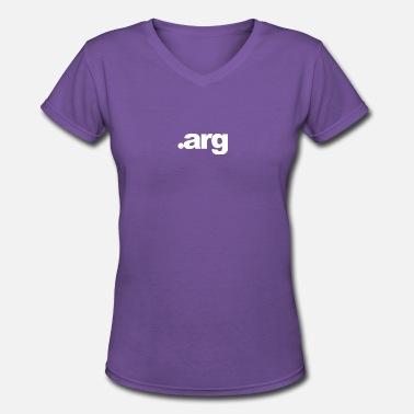 Arg & dot arg - Women's V-Neck T-Shirt