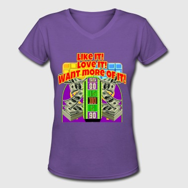 TV Game Show Contestant - TPIR (The Price Is...) - Women's V-Neck T-Shirt
