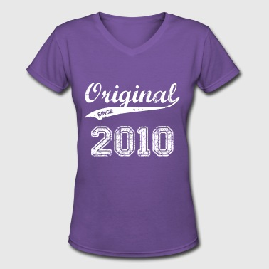 2010 - Women's V-Neck T-Shirt